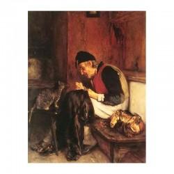 Γέρος που ράβει