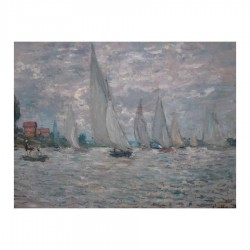 The boats. Regattas in Argenteuil