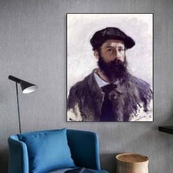 Autoportret Claude Monet