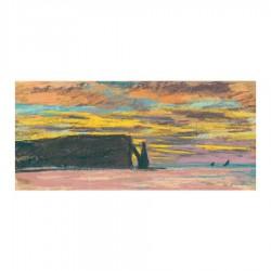 Aiguille & Porte d'Aval, Etretat  Sunset