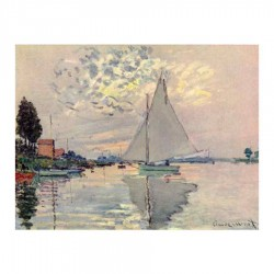 Sailboat in Le Petit Gennevilliers