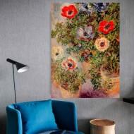 Still life with anemones