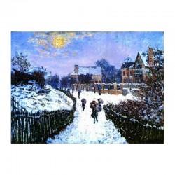 Boulvard Saint Denis in Argenteuil im Winter