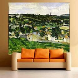 Άποψη του Auvers sur Oise