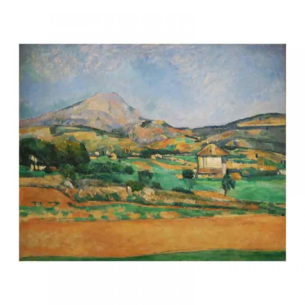 Άποψη του βουνού Sainte Victoire