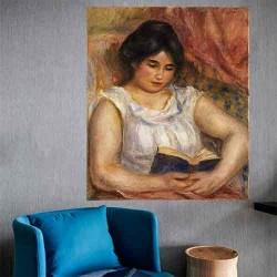 Gabrielle reading
