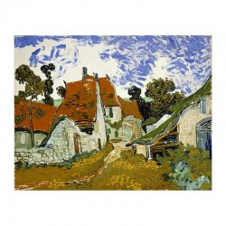 Street in Auvers sur Oise