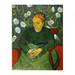 La berceuse Portrait of Madame Roulin
