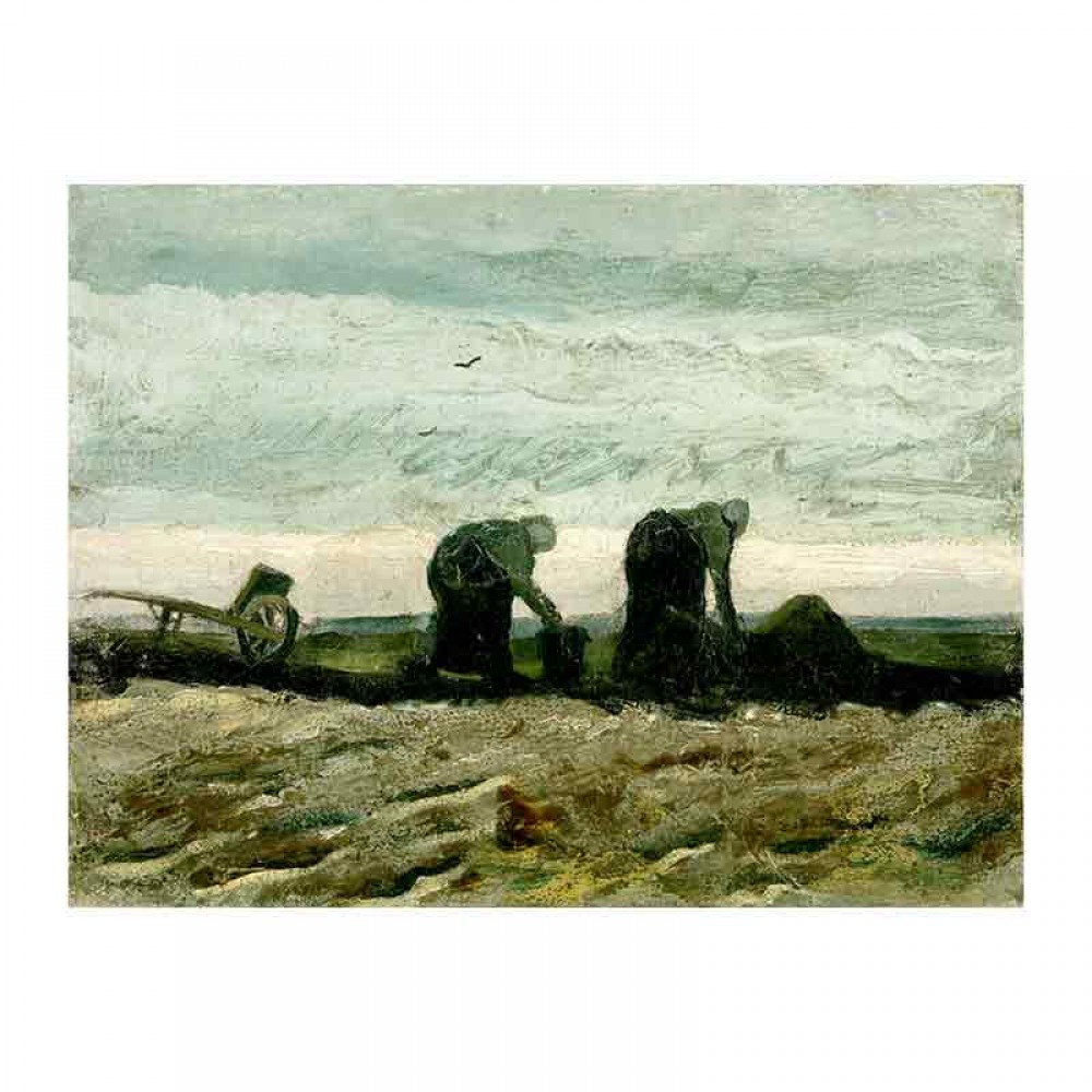 Two Women on the Peat Moor