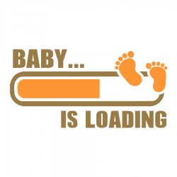 Baby is loading