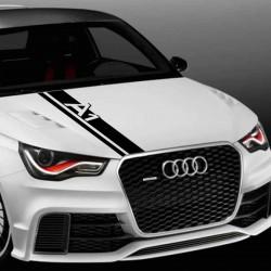 Audi A1 Λωρίδα για καπό