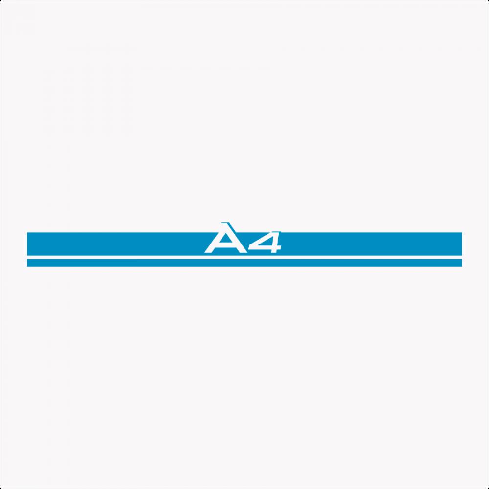 Audi A4 Λωρίδα για καπό