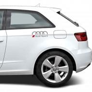 Audi Sport with logo