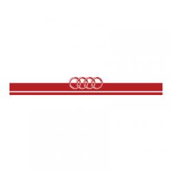 Audi logo Λωρίδα για καπό