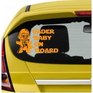Vader Baby on Board 123
