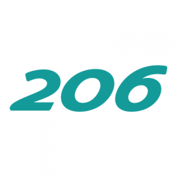 Peugeot 206 logo