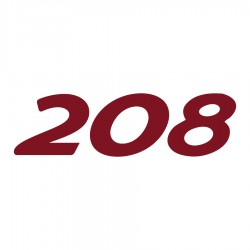 Peugeot 208 logo