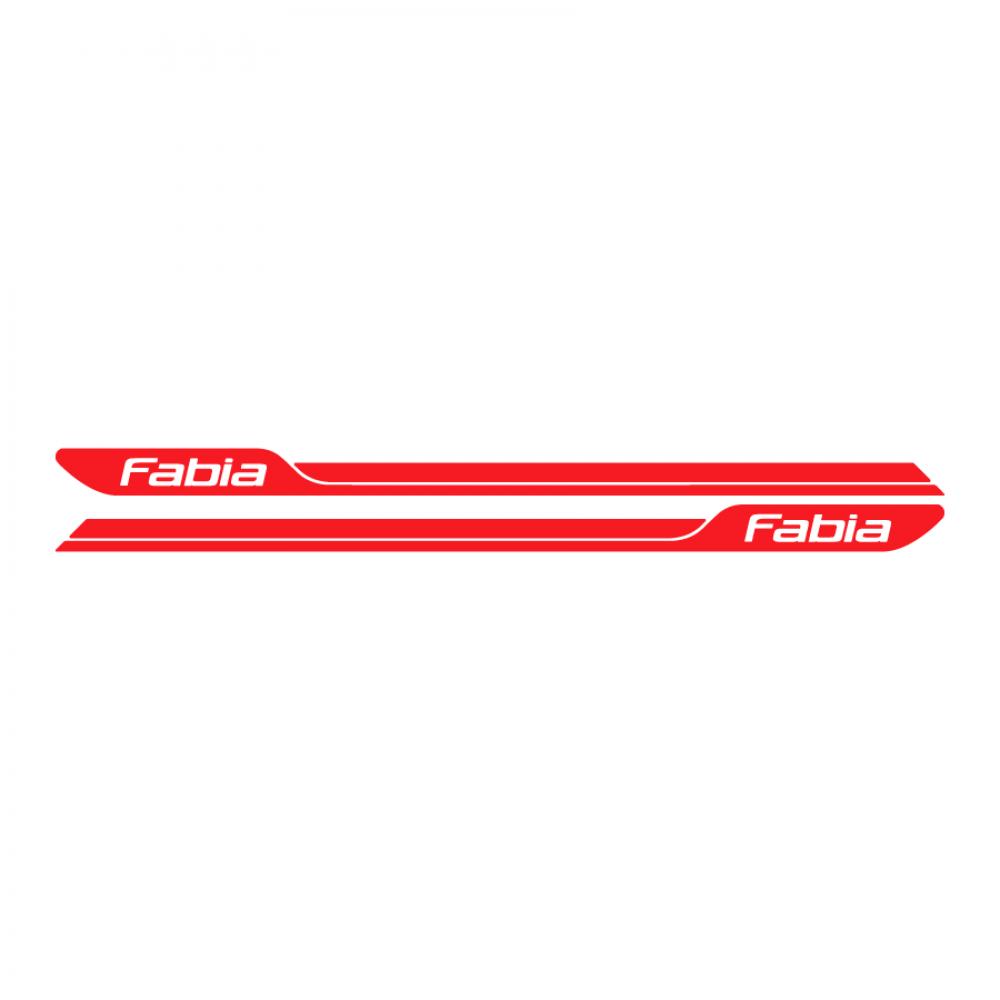 Fabia logo πλαϊνές λωρίδες 001