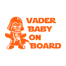 Vader Baby on Board 123