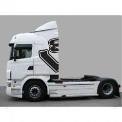 Scania μισό V8 λογότυπο